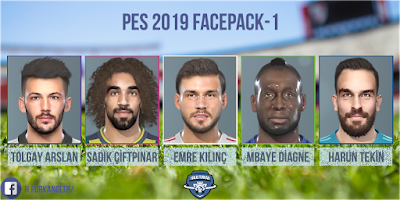 PES 2019 Facepack v1 by Halil Furkan