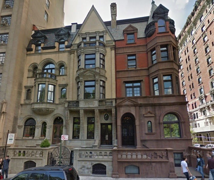 West Central Park: New York And Stuff: Townhouses