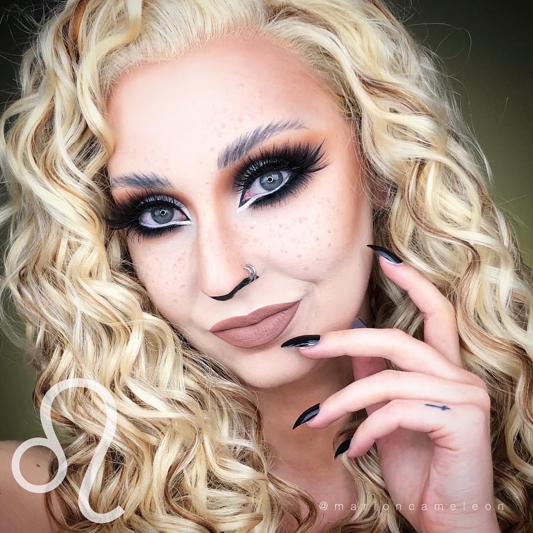 Maquiagem Leoa para o carnaval 2018