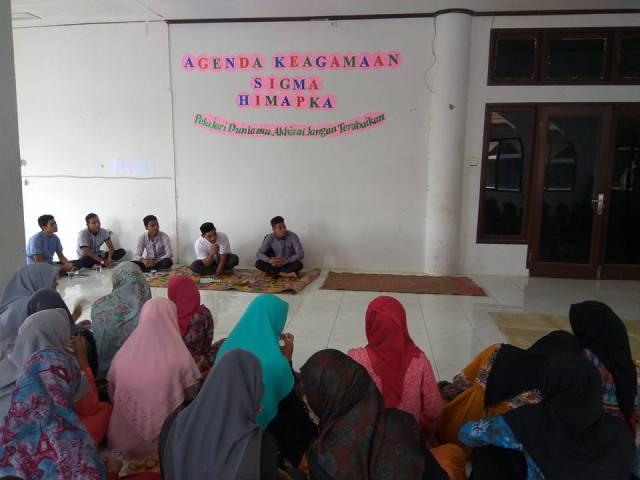 Himapka FKIP Unimal Laksanakan Kegiatan Baca Yasin Bersama
