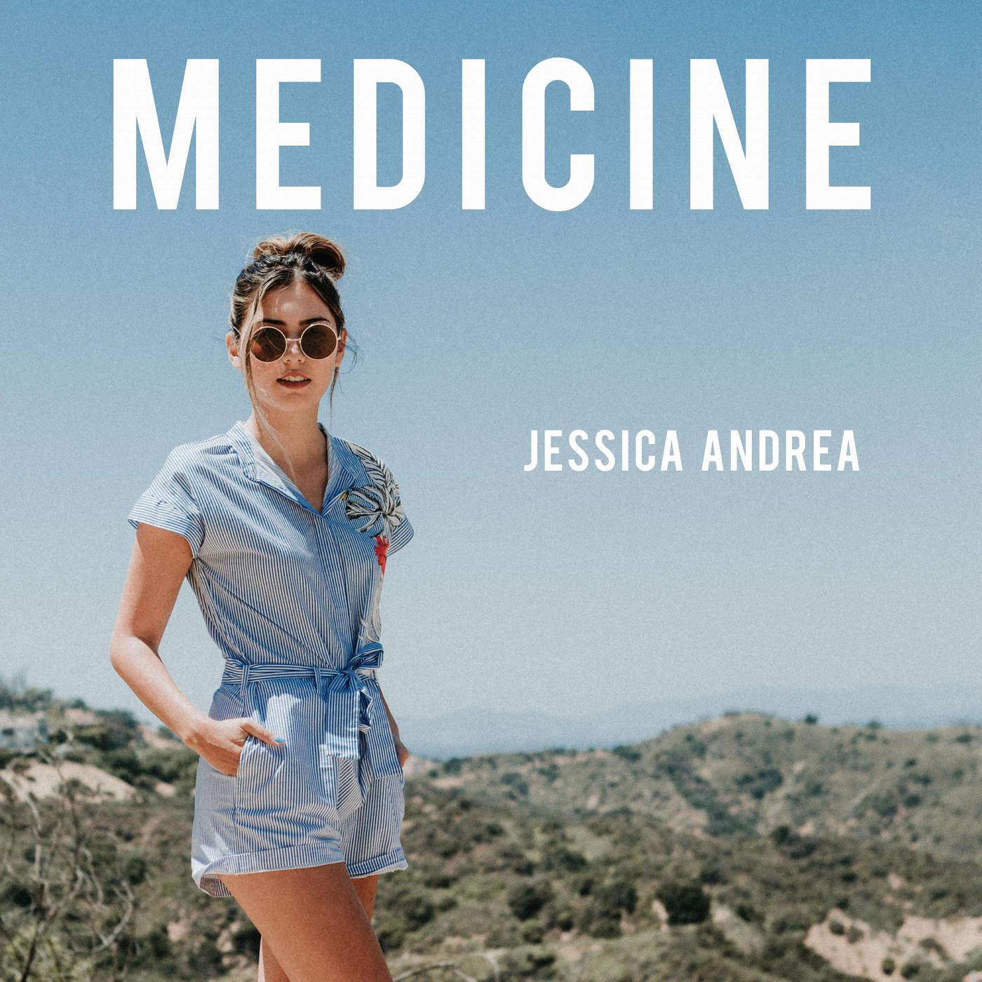 Jessica Andrea - Medicine - Single Cover