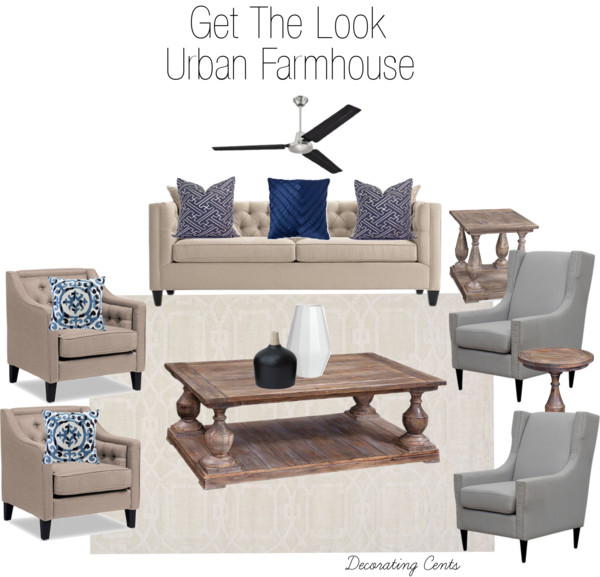 Decorating Cents Get The Look Urban Farmhouse