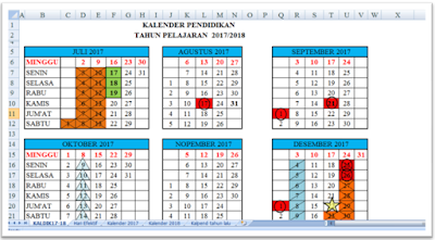 Kalender Pendidikan Smp 2017 Lampung Download Kalender Pendidikan Tahun Pelajaran 2017 2018