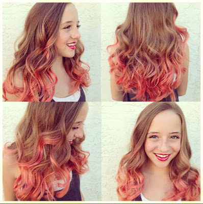 Coral Hair Color - 18 Best Hair Color Trend 2016