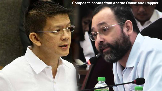 Chiz slams Gascon: 'Dito ka maglaba ng maruming damit hindi sa international community'