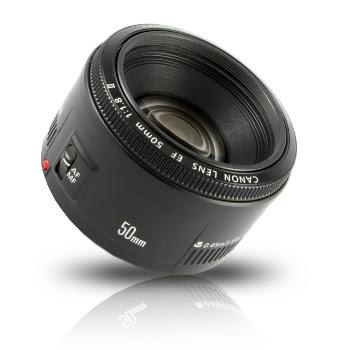 Canon Objectif pour reflex 50 mm