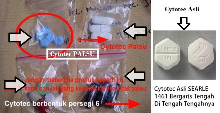 cytotec asli dan palsu