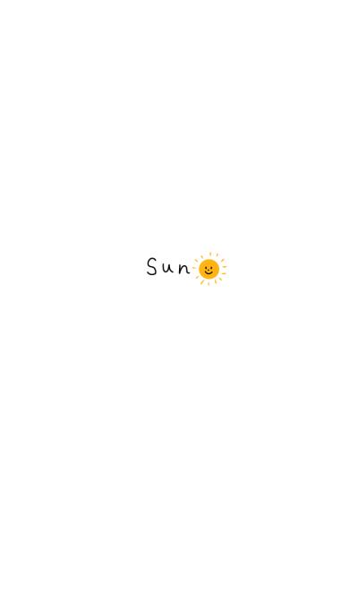 The simple sun!