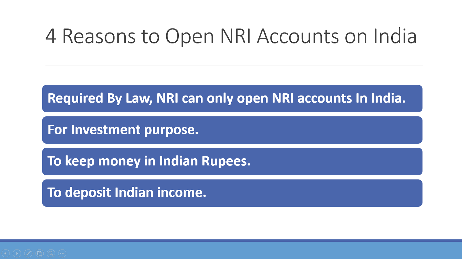 Is it Mandatory to Open NRI Accounts for Indians Living