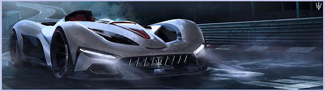 2017 Maserati Hypercar Rendering - #Maserati #Hypercar #Rendering #supercar