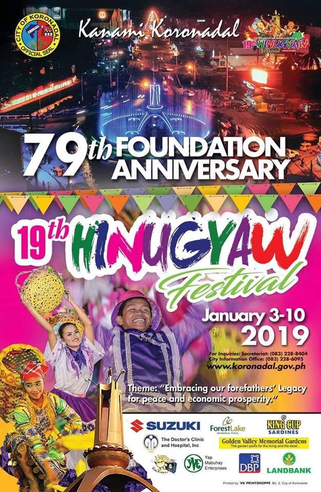 Koronadal celebrates 19th Hinugyaw Festival