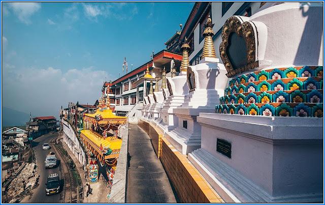 Dali Monastry in Darjeeling