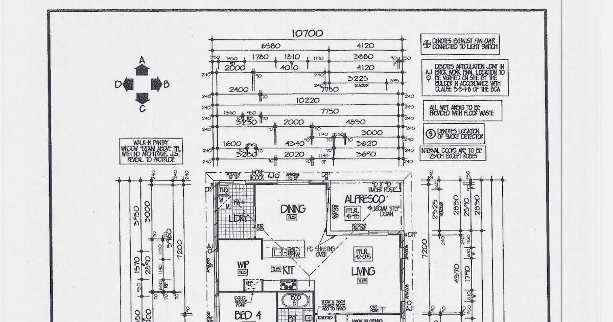 Building Journey: Eden Brae Livingstone 23 Blog: Floor Plan