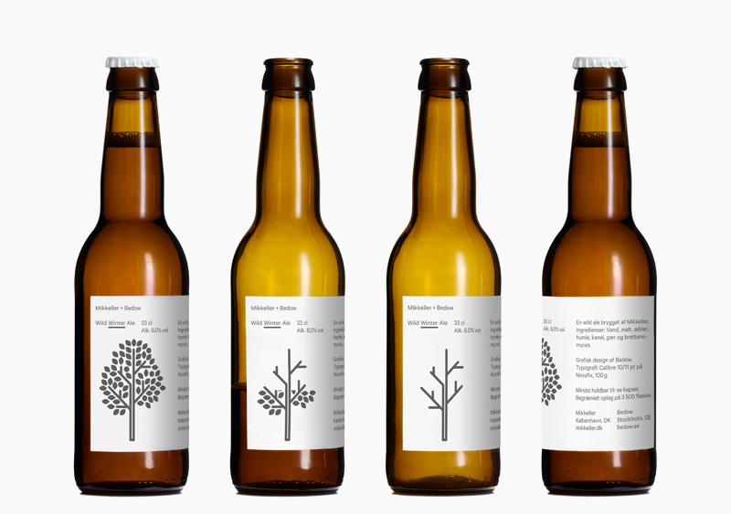 Mikkeller Winter Pilsner Bedow beer packaging