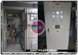 HARGA PANEL ATS AMF 200 KVA / PANEL OTOMATIS GENSET