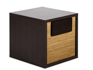 Bedside chest Kokeshi for modern bedroom furniture sets
