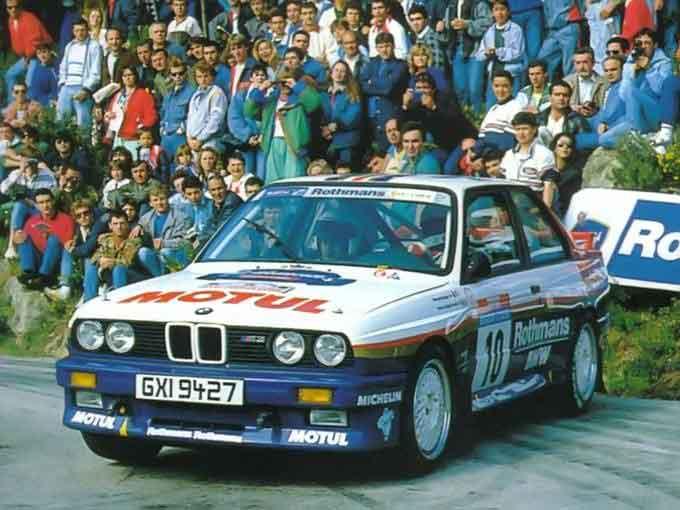 Bmw E30 M3 Group A 1987 Racing Cars