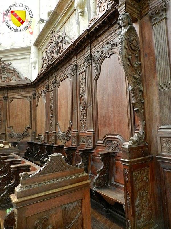 SAINT-NICOLAS-DE-PORT (54) - Basilique : les stalles (1728)