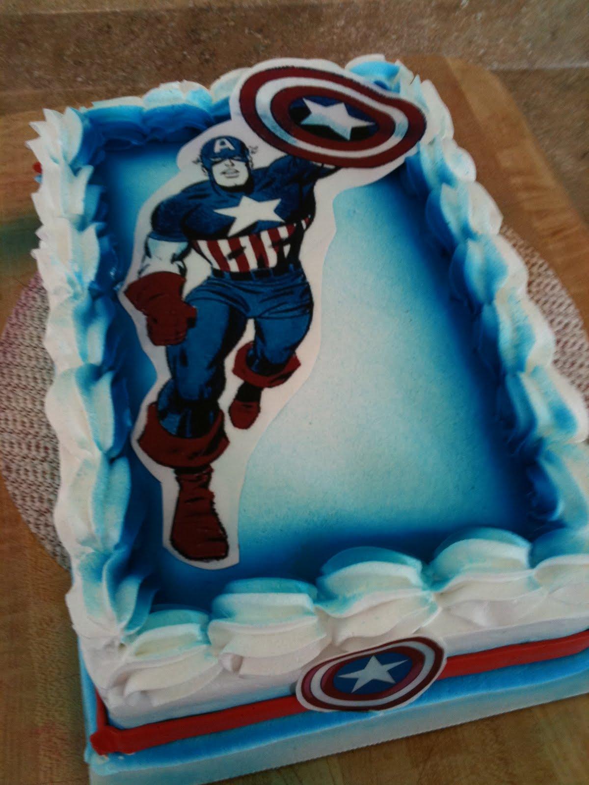 Hector S Custom Cakes Captain America Cake