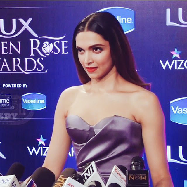 Deepika Padukone Stills at Lux Golden Rose Awards 2016
