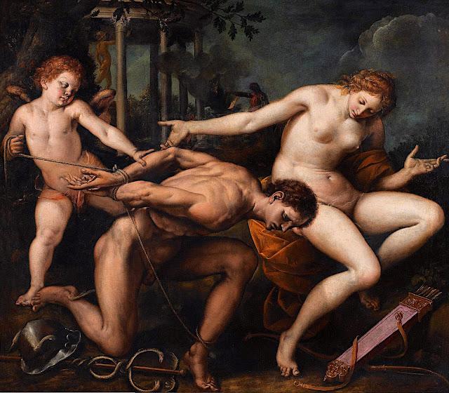 Isidoro Bianchi: Allegoria dell'Amore e della Saggezza