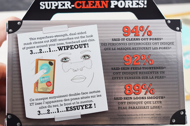Benefit Cosmetics' The POREfessional Instant Wipeout Masks