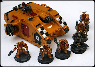 Lamenters Land Raider, Terminators and Ruclusiarch