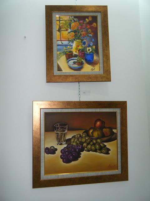 Les peintures de mes élèves à l'expo 13