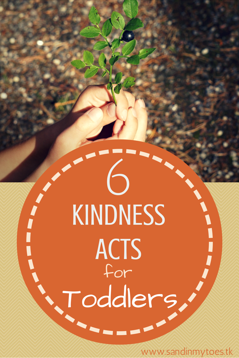 Six acts of kindness that toddlers can do