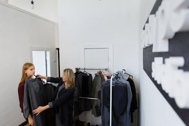 имиджевая фотосессия новой коллекции женской одежды дизайнера Надежды Химдиат/ Nadia Himdiat под названием «Белы крыж».