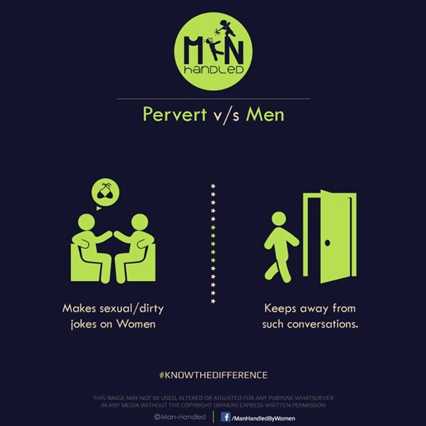Pervert v/s Men