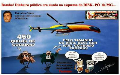 Resultado de imagem para Policia federal deve a sociedade investigação do pó em terras tucanas