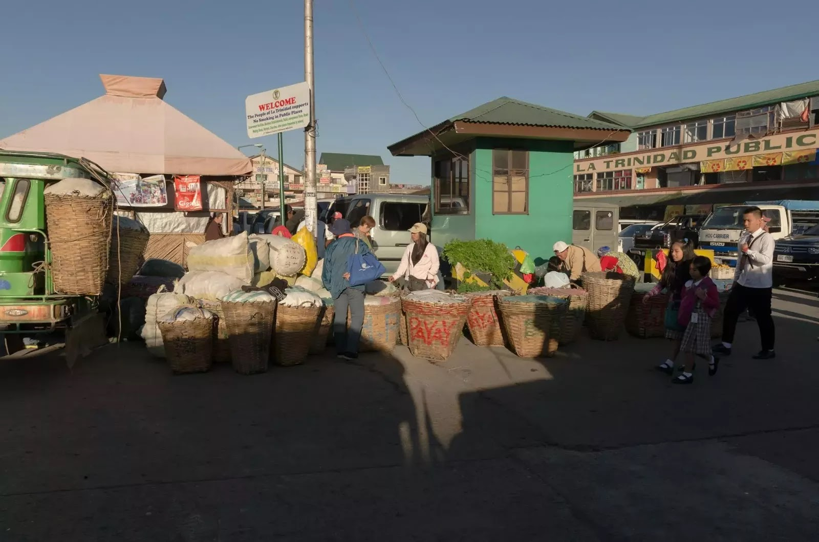 Parking Area La Trinidad Public Market Benguet Cordillera Administrative Region Philippines