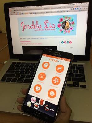 Aplikasi OrangeKu Memberikan Kemudahan Bagi Pelanggannya