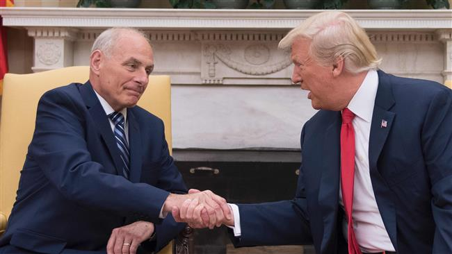 US President Donald Trump installed John Kelly as new White House chief of staff