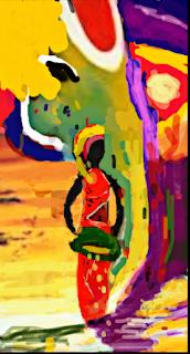 Un alt fel de arta, pictura energetica