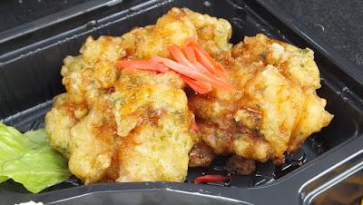 鶏天弁当 / アルタ飯坂店 (福島市飯坂町)
