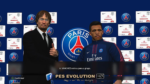 PES 2017 Press Room PSG by PES Evolution HD