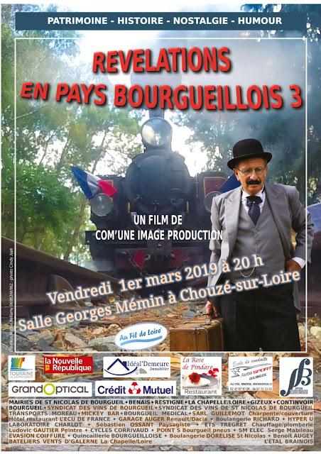 Révélations en Pays bourgueillois 3 Bientôt à Chouzé