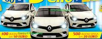 Logo Gioca e vinci 600 buoni spesa e 3 Renault Clio