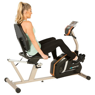 Exerpeutic GOLD 975XBT Recumbent Exercise Bike, image, review features & specifications plus compare with Exerpeutic GOLD 525XLR