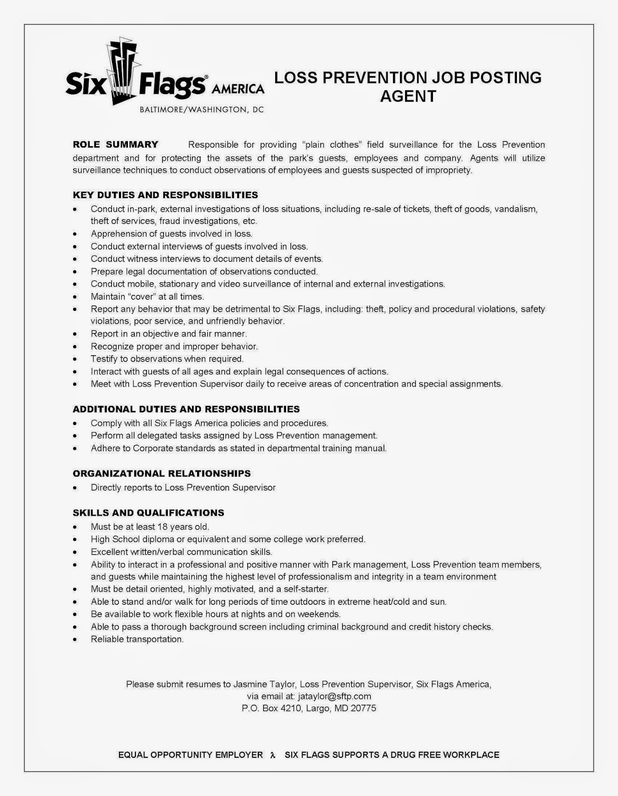 Loss Mitigation Resume Cover Letter. cover letter free cover ...