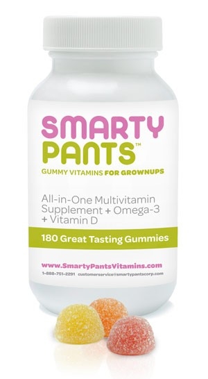 Smarty pants vitamins for adults