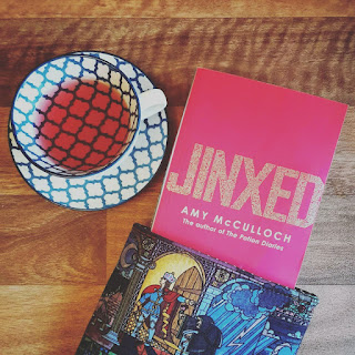 Book and Tea - Jinxed by Amy McCulloch