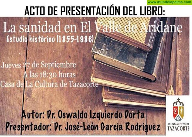 """Acto presentación del Libro """"La sanidad en El Valle de Aridane"""""""