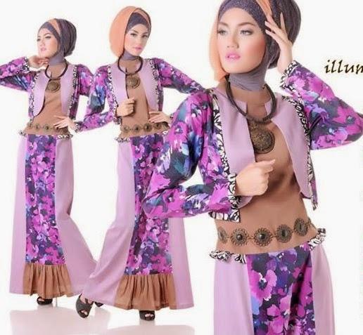 Model baju muslim remaja ekspresif nan menawan