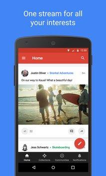 تحميل وتنزيل تطبيق جوجل بلس Google+ للاندرويد مجانا