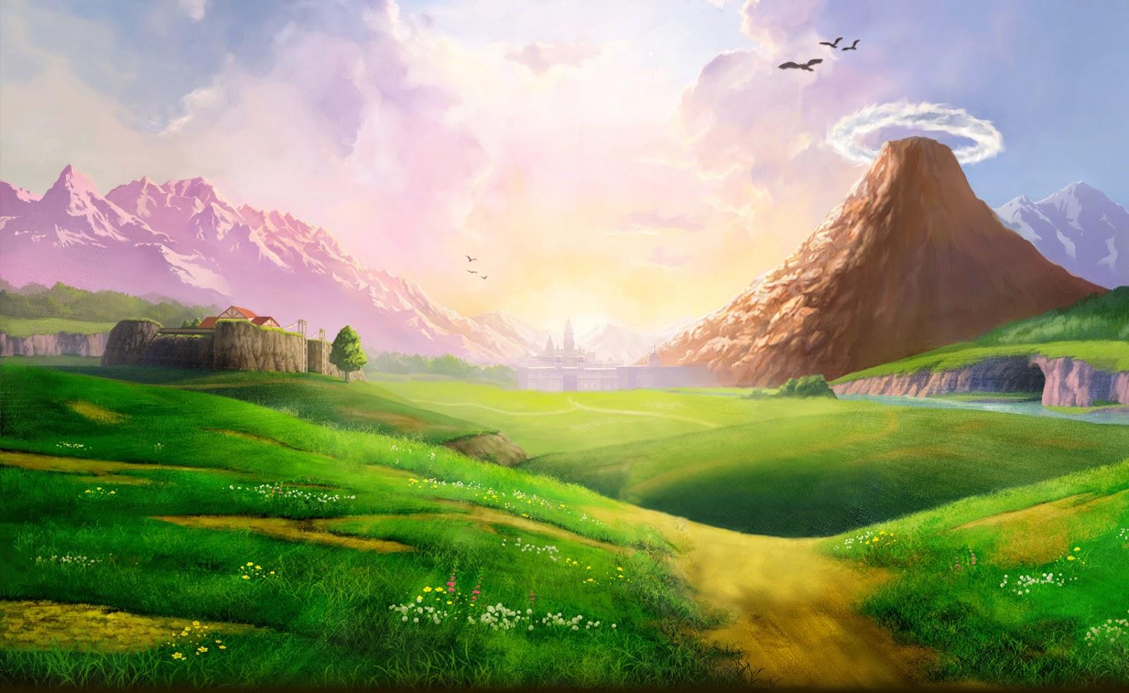 Pravila Arc-a Sky+Anime+Landscape+16