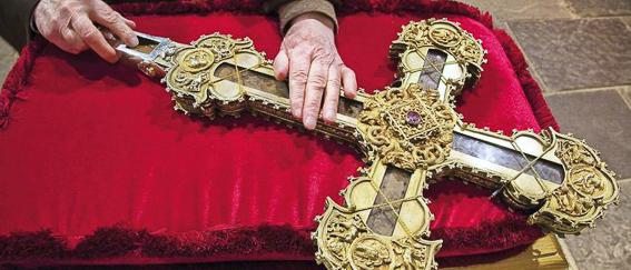 Reliquia Lignum Crucis Liebana