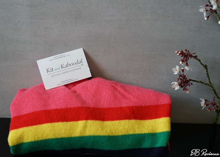 Made in Italy Castleton Cashmere Rainbow Jumper